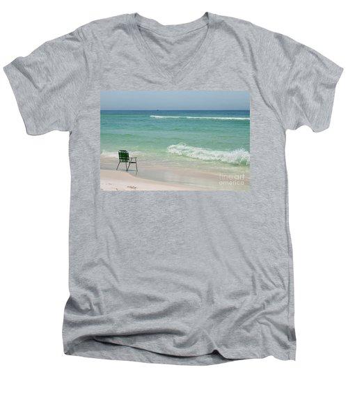 Best Seat  Men's V-Neck T-Shirt
