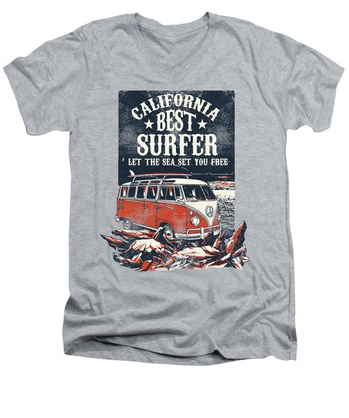 Best Surfer Men's V-Neck T-Shirt