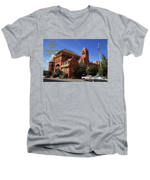 Best Western Plus Windsor Hotel -2 Men's V-Neck T-Shirt