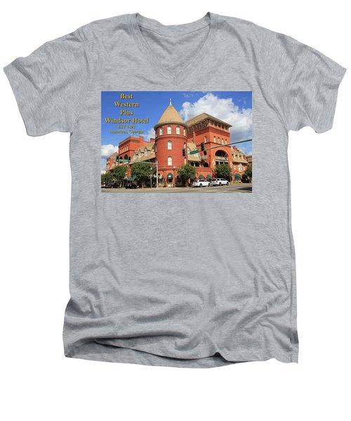 Best Western Plus Windsor Hotel Men's V-Neck T-Shirt