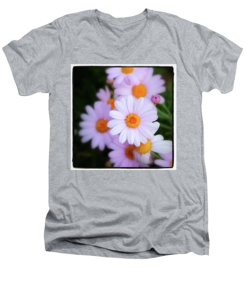 Men's V-Neck T-Shirt featuring the photograph Best Wishes In This Time Of Loss by Mr Photojimsf