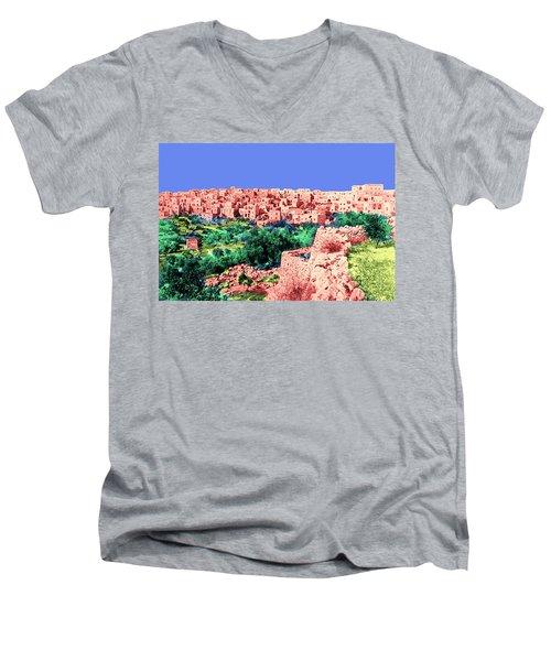 Bethlehem 1924 Men's V-Neck T-Shirt by Munir Alawi