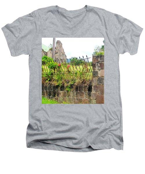 Better Days Men's V-Neck T-Shirt by Ian  MacDonald