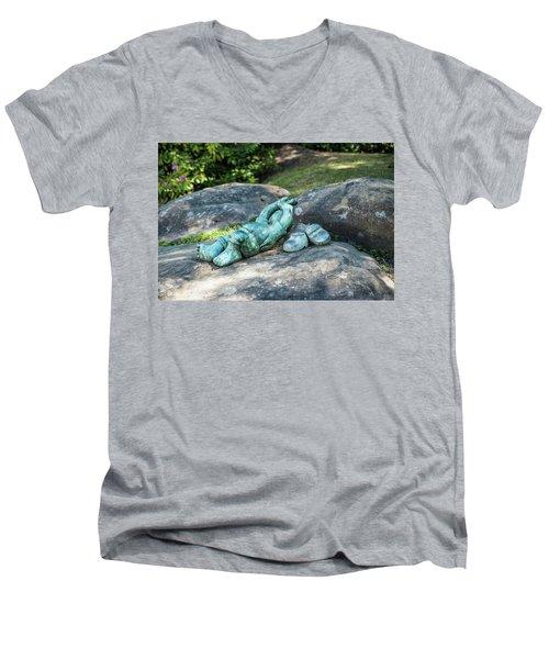 Better Than Studying Men's V-Neck T-Shirt