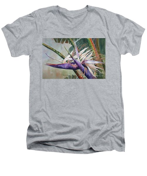 Betty's Bird - Bird Of Paradise Men's V-Neck T-Shirt