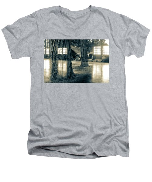 Between Places I I Men's V-Neck T-Shirt