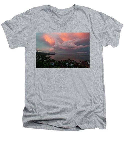Between Rainstorms Men's V-Neck T-Shirt