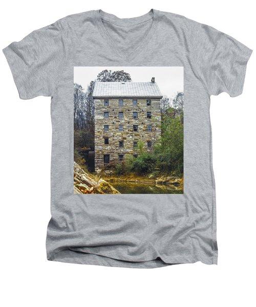 Beverly Mill II Men's V-Neck T-Shirt