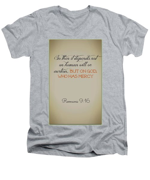 Beyond Our Imperfection Men's V-Neck T-Shirt