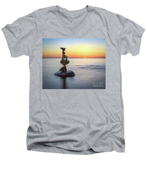 Pain Relief Men's V-Neck T-Shirt