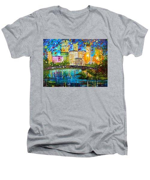 Beyond The Bridge Men's V-Neck T-Shirt