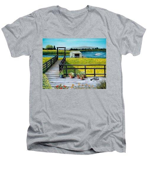Beyond The Levee Men's V-Neck T-Shirt