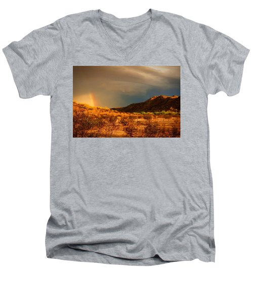 Beyond The Rainbow Men's V-Neck T-Shirt