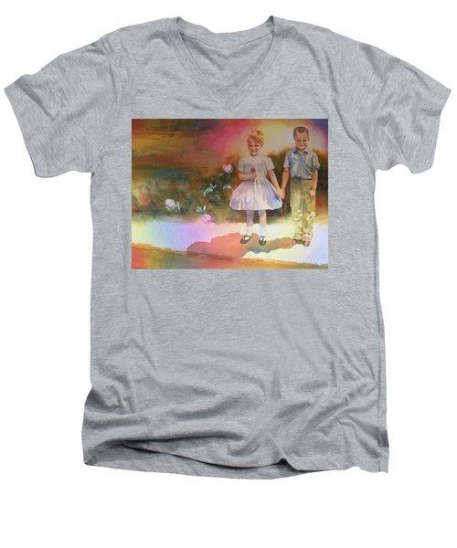 BFF Men's V-Neck T-Shirt