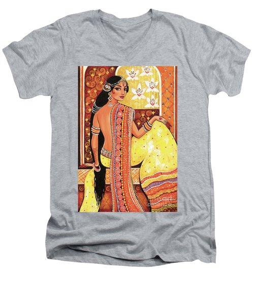 Bharat Men's V-Neck T-Shirt