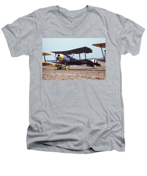 Bi-wing-4 Men's V-Neck T-Shirt