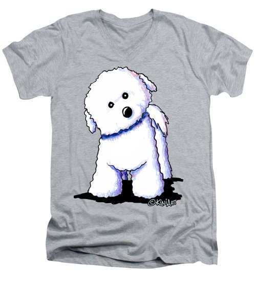 Bichon Boy Men's V-Neck T-Shirt
