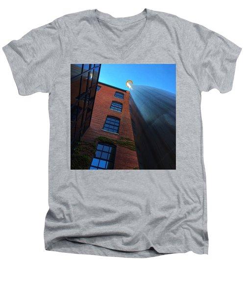 Big Bat  Men's V-Neck T-Shirt