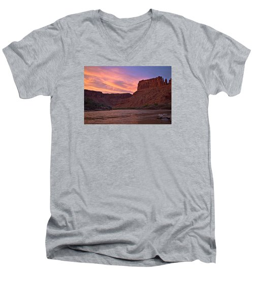 Big Bend, Utah Men's V-Neck T-Shirt