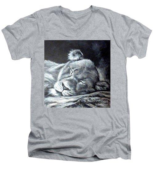 Big Catnap  Men's V-Neck T-Shirt