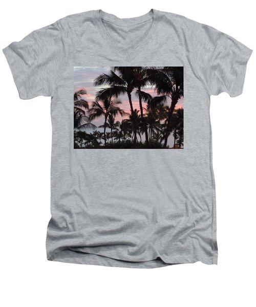 Big Island Sunset 2 Men's V-Neck T-Shirt