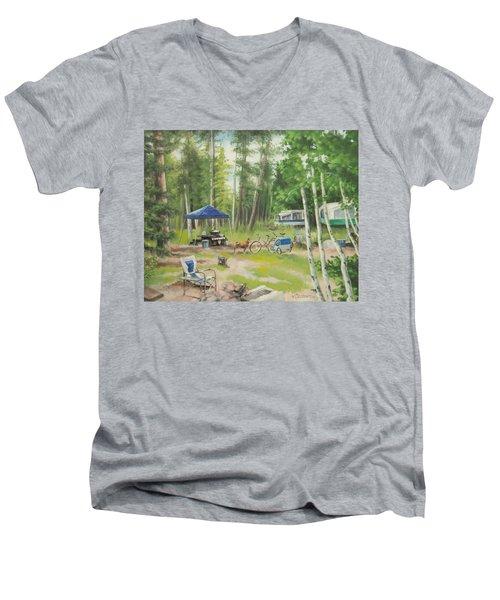 Big Lake 2015 Men's V-Neck T-Shirt