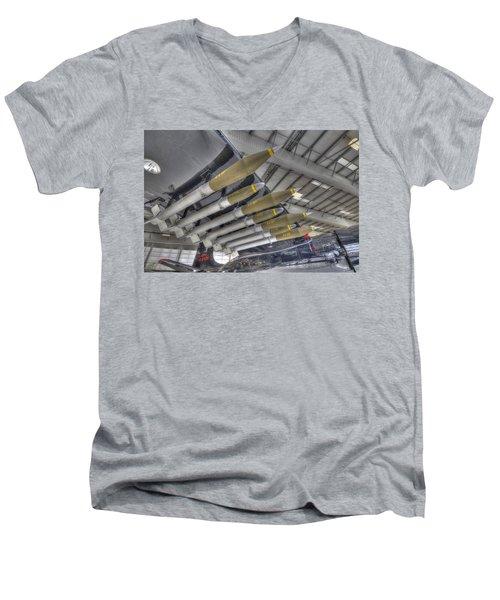 Big Payload Men's V-Neck T-Shirt
