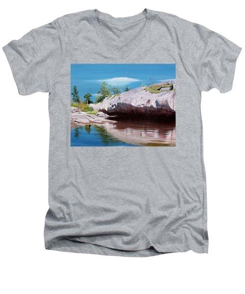 Big River Rock Men's V-Neck T-Shirt