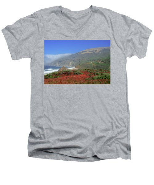 Big Sur 4 Men's V-Neck T-Shirt