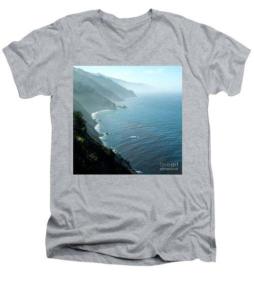 Big Sur Majesty Men's V-Neck T-Shirt