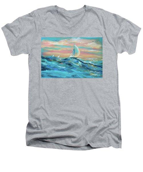 Big Swell Men's V-Neck T-Shirt