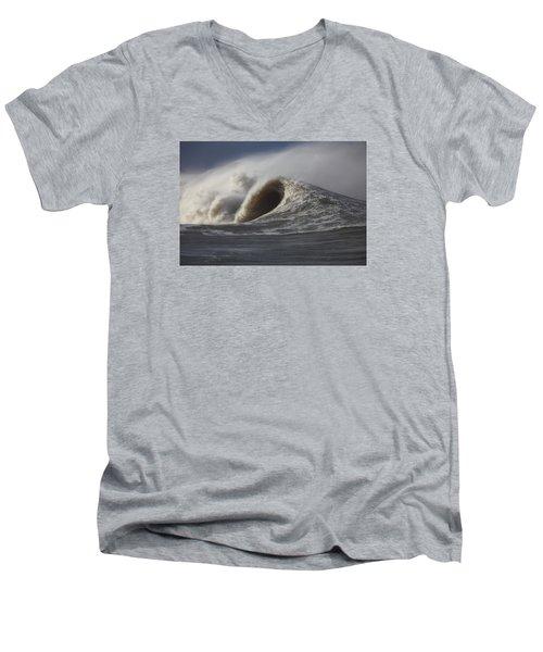 Big Waves #2 Men's V-Neck T-Shirt