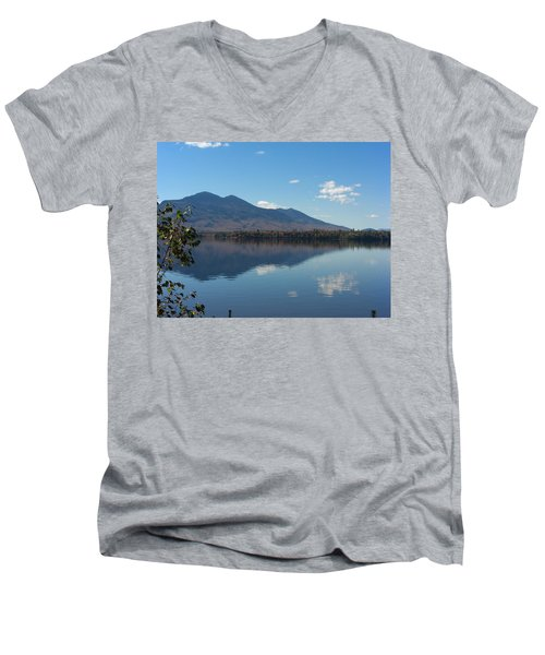 Bigelow Mt View Men's V-Neck T-Shirt