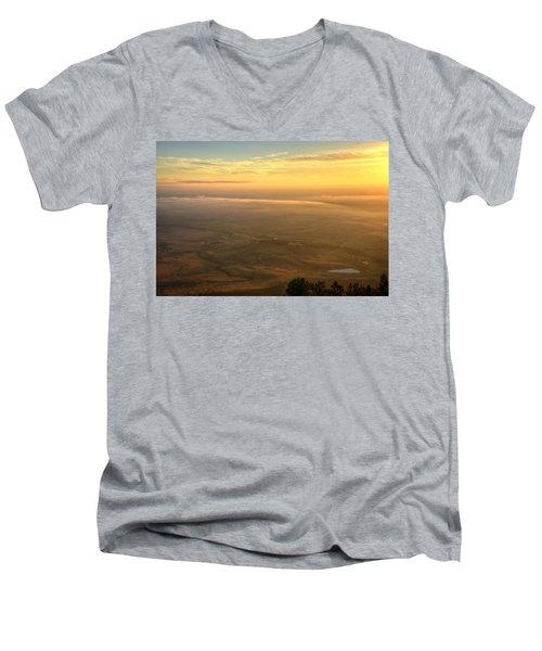 Bighorn Sunrise Men's V-Neck T-Shirt