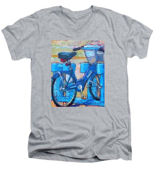 Bike Bubbler Men's V-Neck T-Shirt
