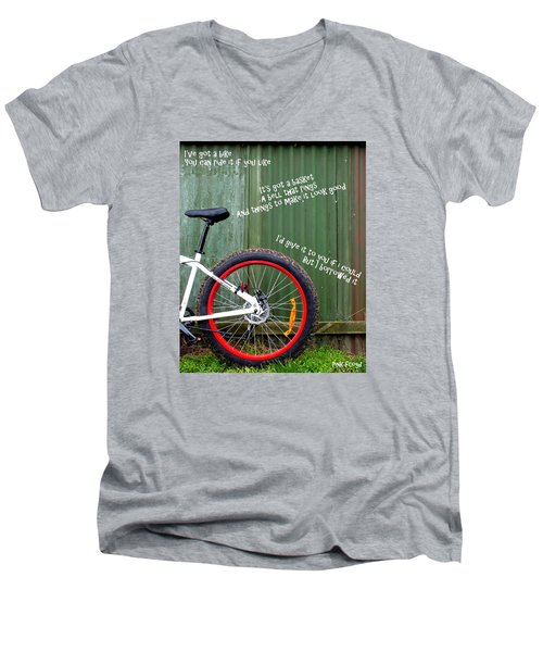 Bike Men's V-Neck T-Shirt