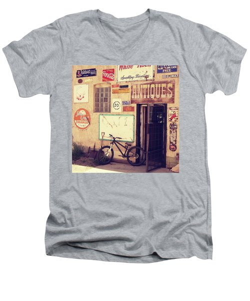 Bike Store Salida Colorado Men's V-Neck T-Shirt