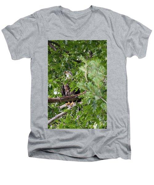 Bil-4 Men's V-Neck T-Shirt