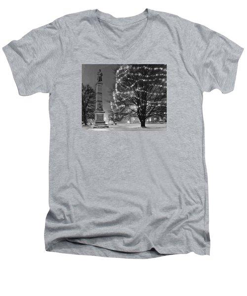 Billerica Common 004 Men's V-Neck T-Shirt