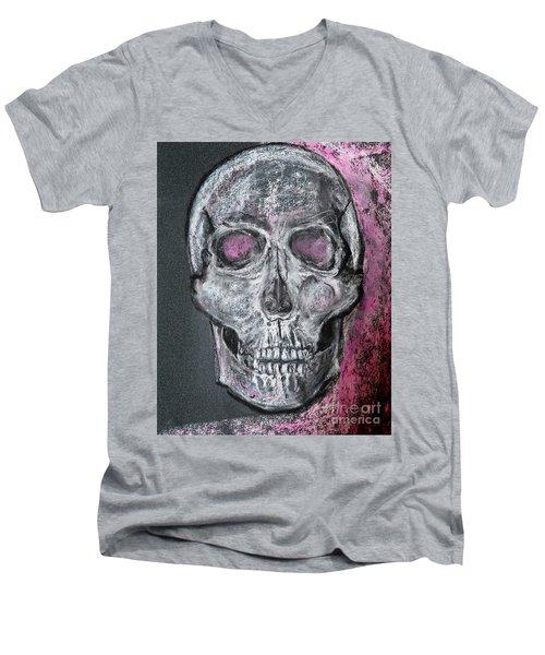 Billie's Skull Men's V-Neck T-Shirt