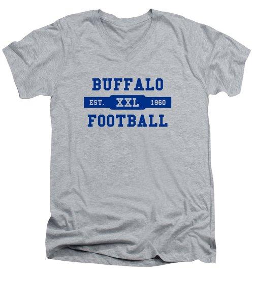 Bills Retro Shirt Men's V-Neck T-Shirt by Joe Hamilton