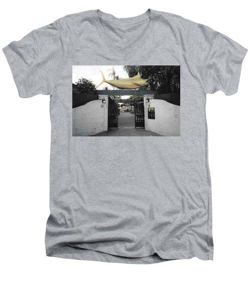 Bimini Big Game Club Men's V-Neck T-Shirt