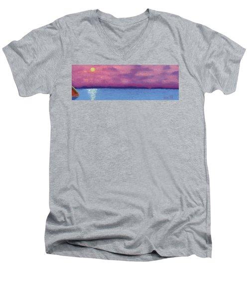 Bimini Sunrise Men's V-Neck T-Shirt
