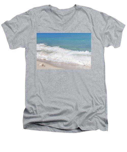 Bimini Wave Sequence 6 Men's V-Neck T-Shirt