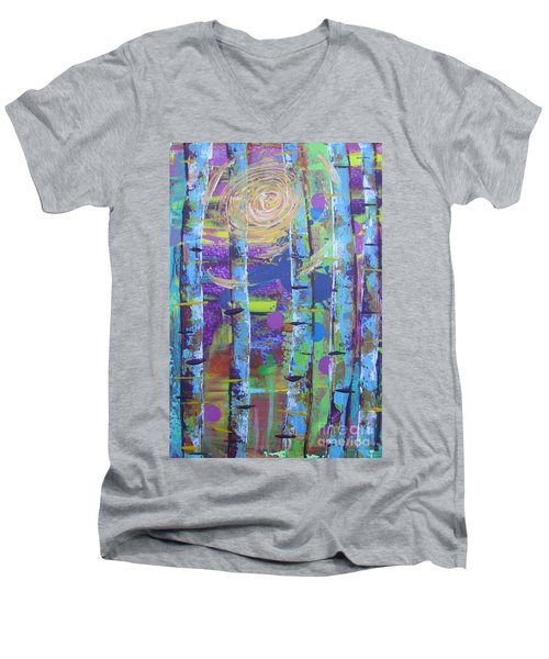 Birch 6 Men's V-Neck T-Shirt