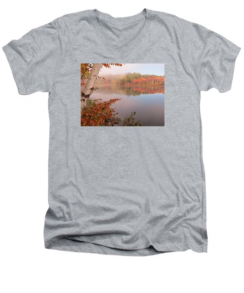 Birch And Beyond Men's V-Neck T-Shirt