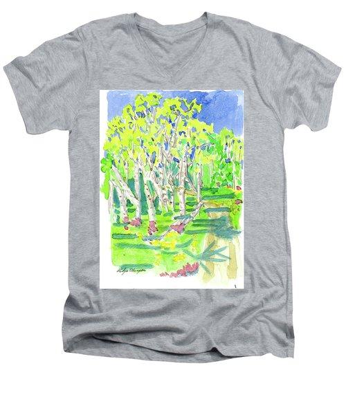 Birch Men's V-Neck T-Shirt