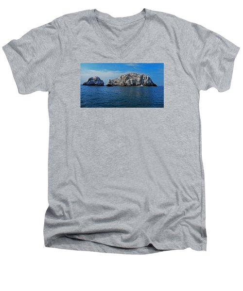 Bird Island 1 Men's V-Neck T-Shirt