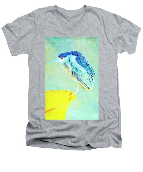 Bird On A Chair Men's V-Neck T-Shirt