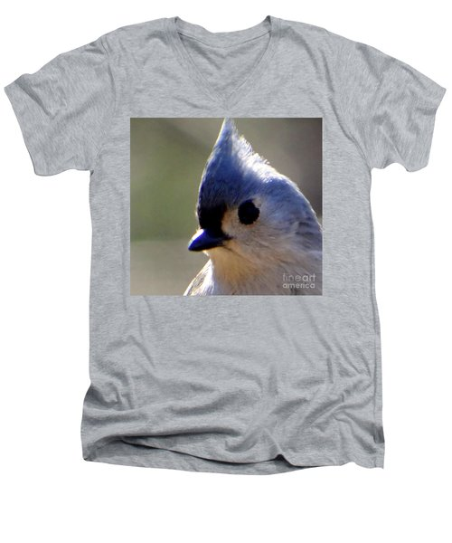 Men's V-Neck T-Shirt featuring the photograph Bird Photography Series Nmr 3 by Elizabeth Coats